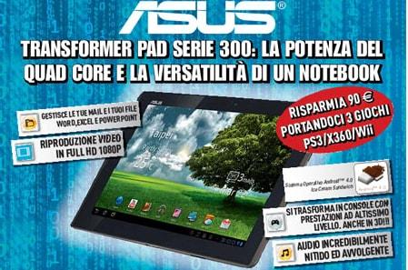 ASUS Transformer Pad TF300 Gamestop