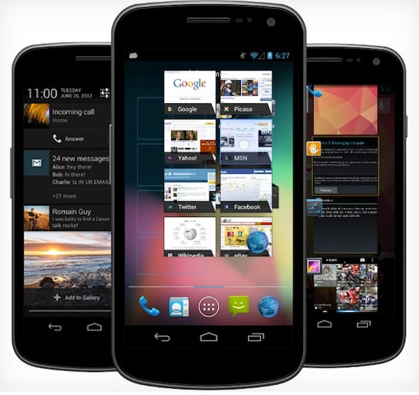 Android 4.1 su Galaxy Nexus