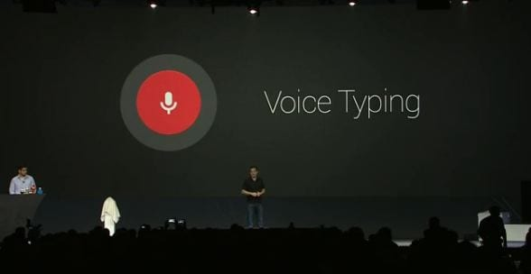 Dettatura vocale