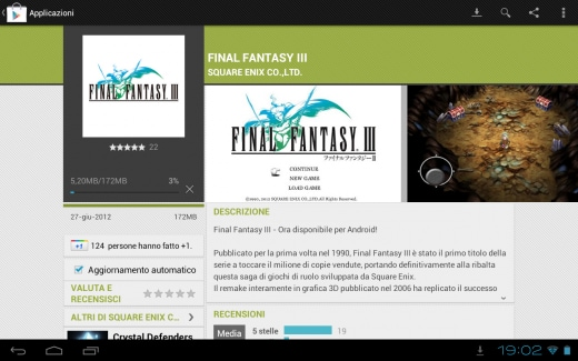final fantasy iii arriva sul play store a 12 99