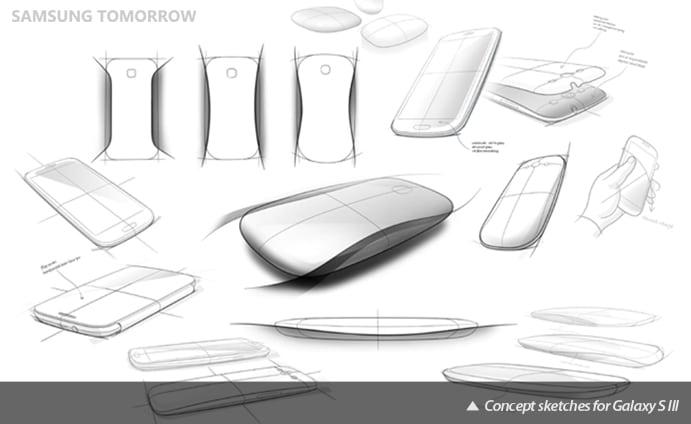 Galaxy S III design