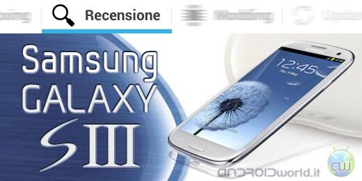 Samsung Galaxy S III recensione