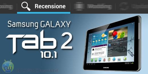 Samsung Galaxy Tab 2 10.1 recensione