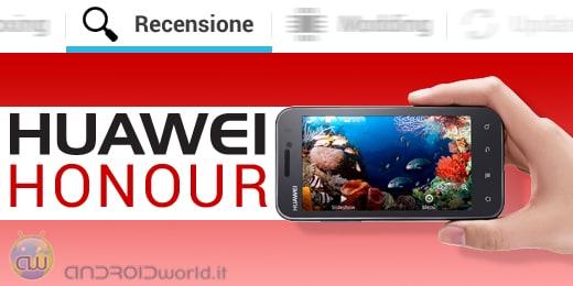 Huawei Honour recensione