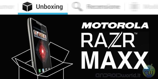 Motorola RAZR Maxx unboxing