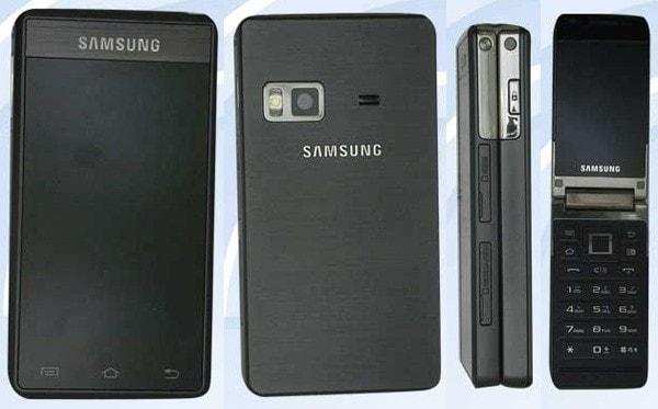 Samsung flip-phone