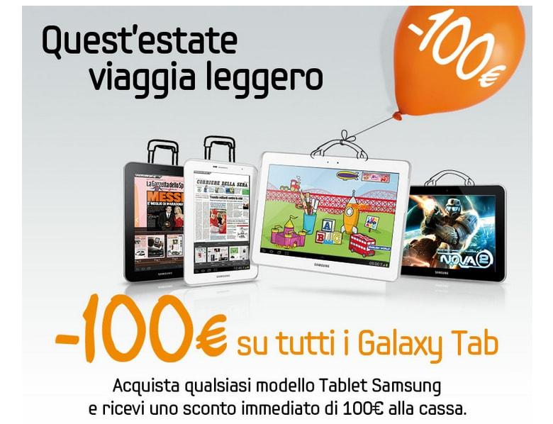Sconto Galaxy Tab