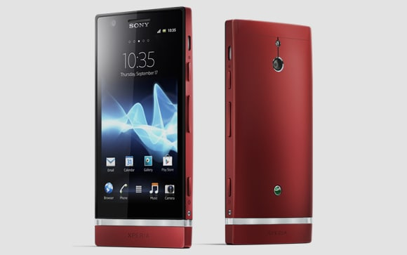 Sony-Xperia-P-red