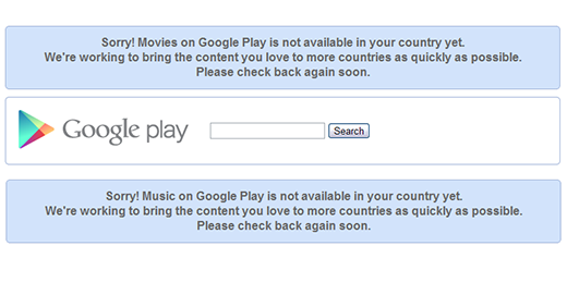 google music movies