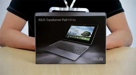 Asus Transformer Pad Infinity: primo unboxing e a metà ...
