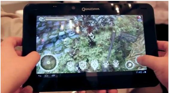 qualcomm snapdragon s4 quad-core gaming