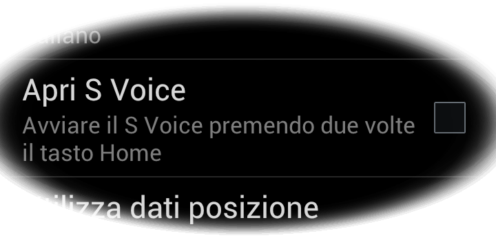 S Voice bug tasto home