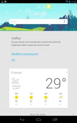 Google Now Nexus 7