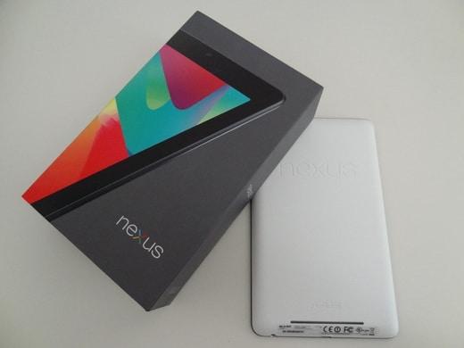 Confezione ASUS Nexus 7