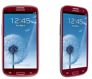 Galaxy S III rosso