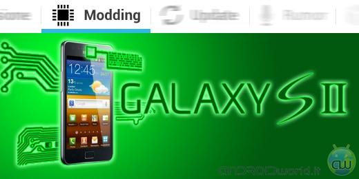 Samsung Galaxy S II modding