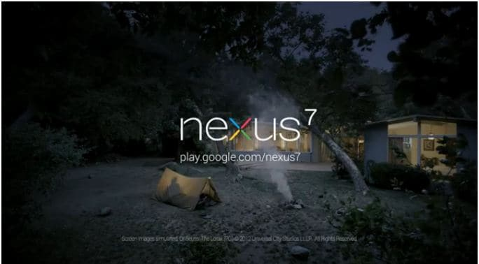 campeggio nexus 7