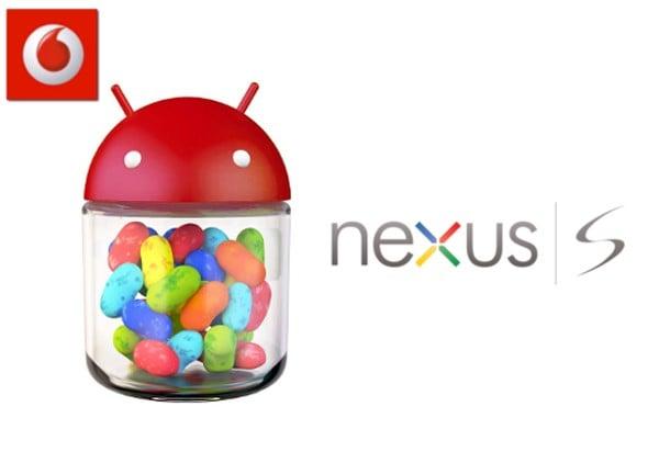 Nexus S Jelly Bean Vodafone Australia