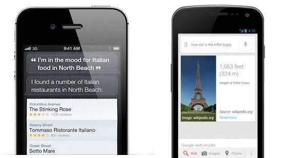 Google Now è ora più preciso di Siri