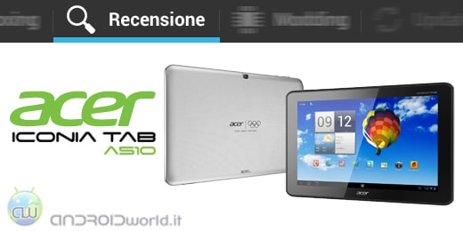 Acer Iconia Tab A510 recensione