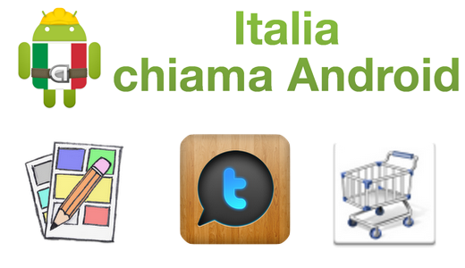 Italia chiama Android: Comic Editor, Tweethat, Dividi spese