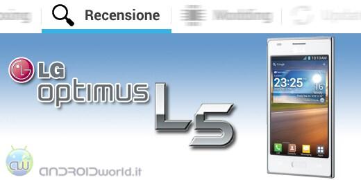 LG Optimus L5 recensione