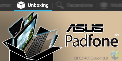 ASUS Padfone unboxing