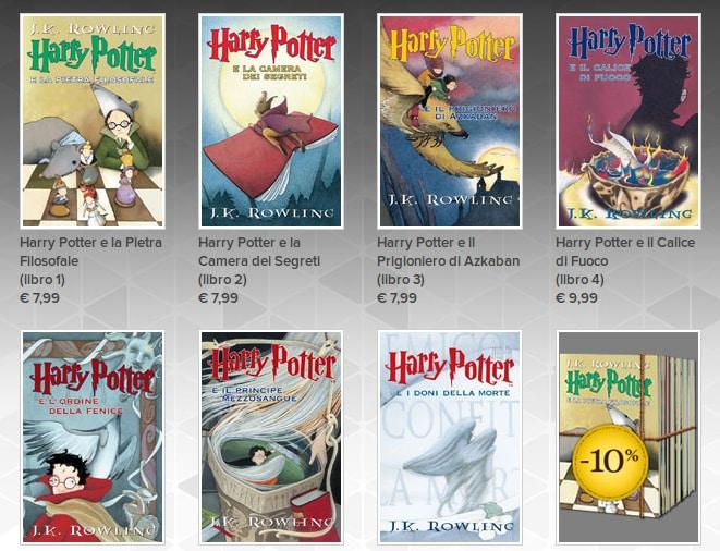 Harry Potter su Google Play