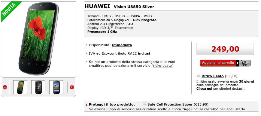 Huawei Vision da Mediaworld