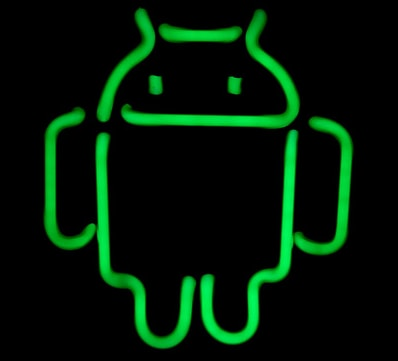 android neon light