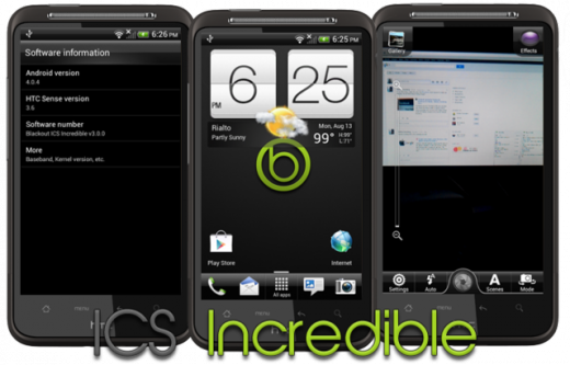 HTC Desire HD Ice Cream Sandwich