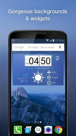 5 app meteo Android - 1weather 1