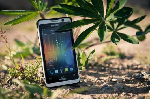 Handheld-Nautiz-X1-outdoor-rugged-smartphone-nature-1