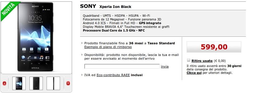 Sony Xperia Ion Mediaworld
