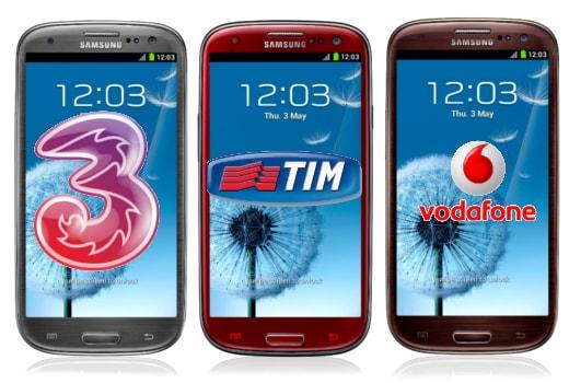 Galaxy S III nuovi colori
