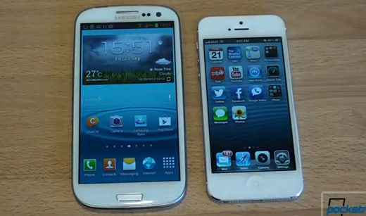 gs3 iphone5