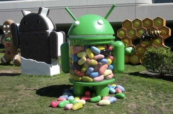 new jelly bean at googleplex