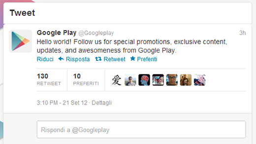 twitter google play