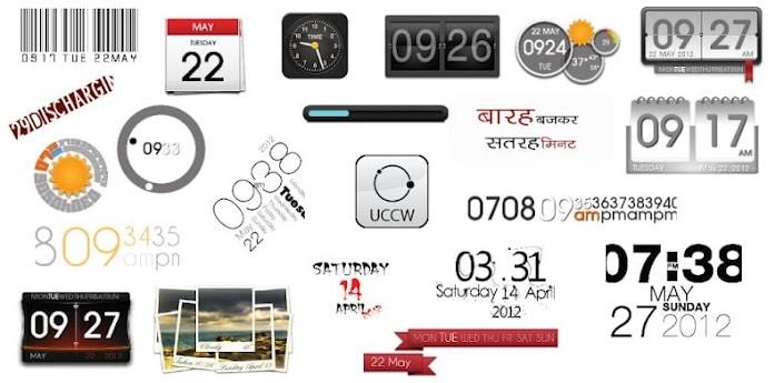 ultimate custom clock widget
