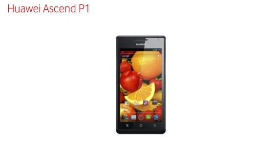 Huawei Ascend P1 Vodafone