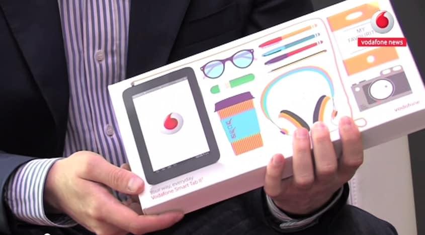 "Unboxing Vodafone Smart Tab 2 7"""