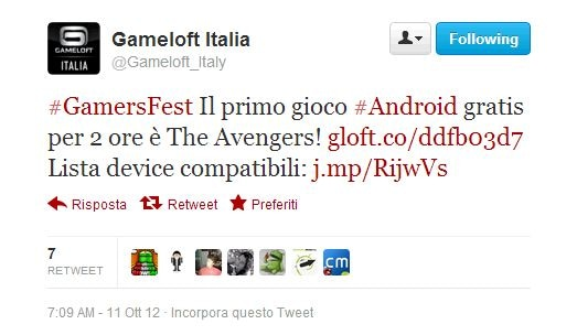 gioco gameloft