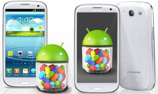 jelly bean galaxy s iii