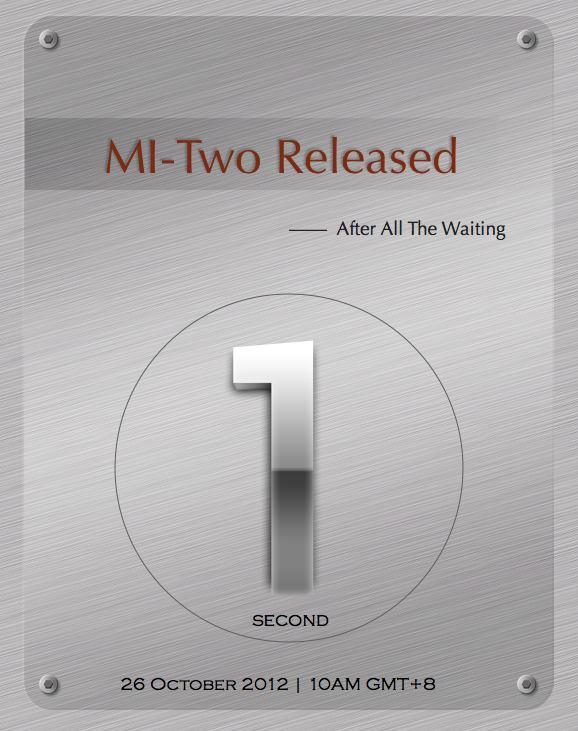 mi two release