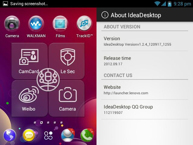 IdeaDesktop: il launcher di Lenovo su tutti i dispositivi Ice Cream Sandwich