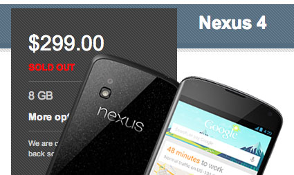 nexus-4-sold-out
