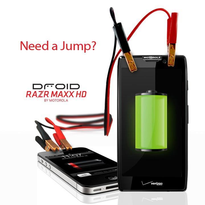 razr maxx iphone