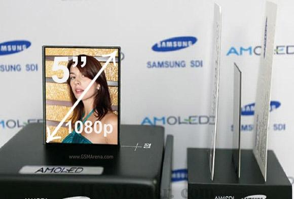 "Samsung presenterà un display AMOLED full HD da 5"" al CES di gennaio"