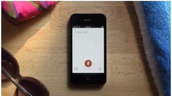 voice search ios