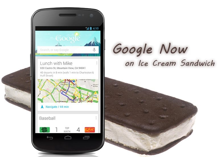 Google Now su ICS